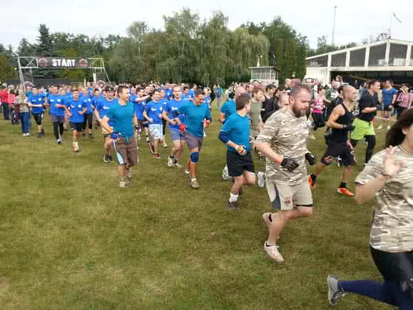 Legion Run 2014 Budapest - start