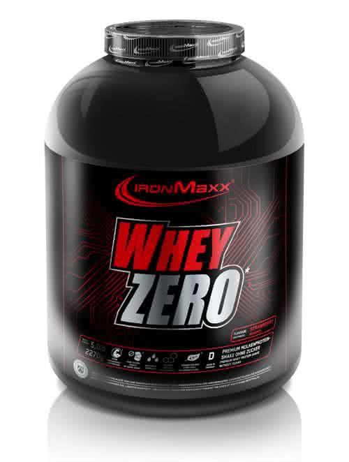 IronMaxx Whey Zero 2,35 kg