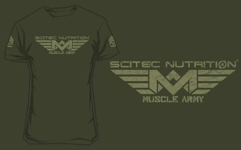 Scitec Nutrition Muscle Army póló