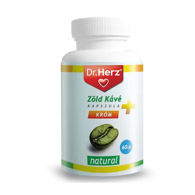 Dr. Herz Zöld kávé kapszula 60 kap.