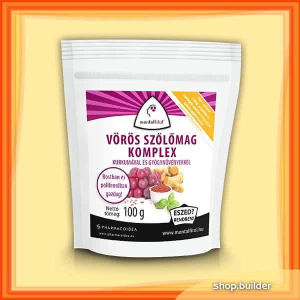 PharmacoIdea Vörös szőlőmag komplex 100 gr.