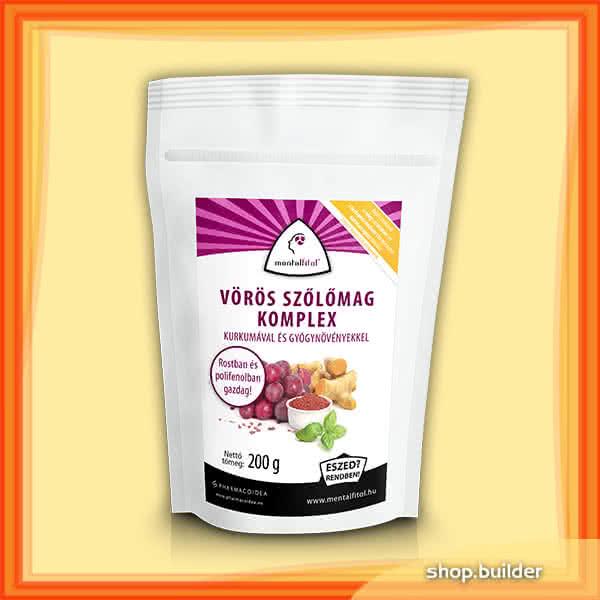 PharmacoIdea Vörös szőlőmag komplex 200 gr.