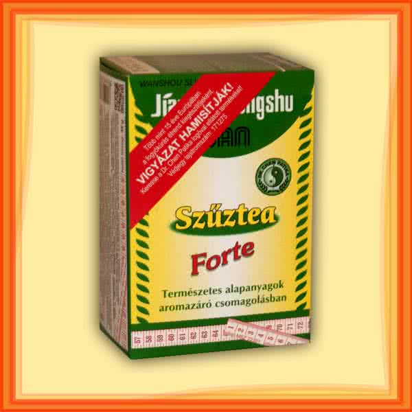 Dr. Chen Patika Zöldtea - szűztea Forte 15 filter
