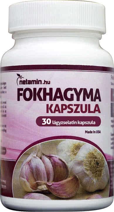 Netamin Fokhagyma kapszula 30 kap.