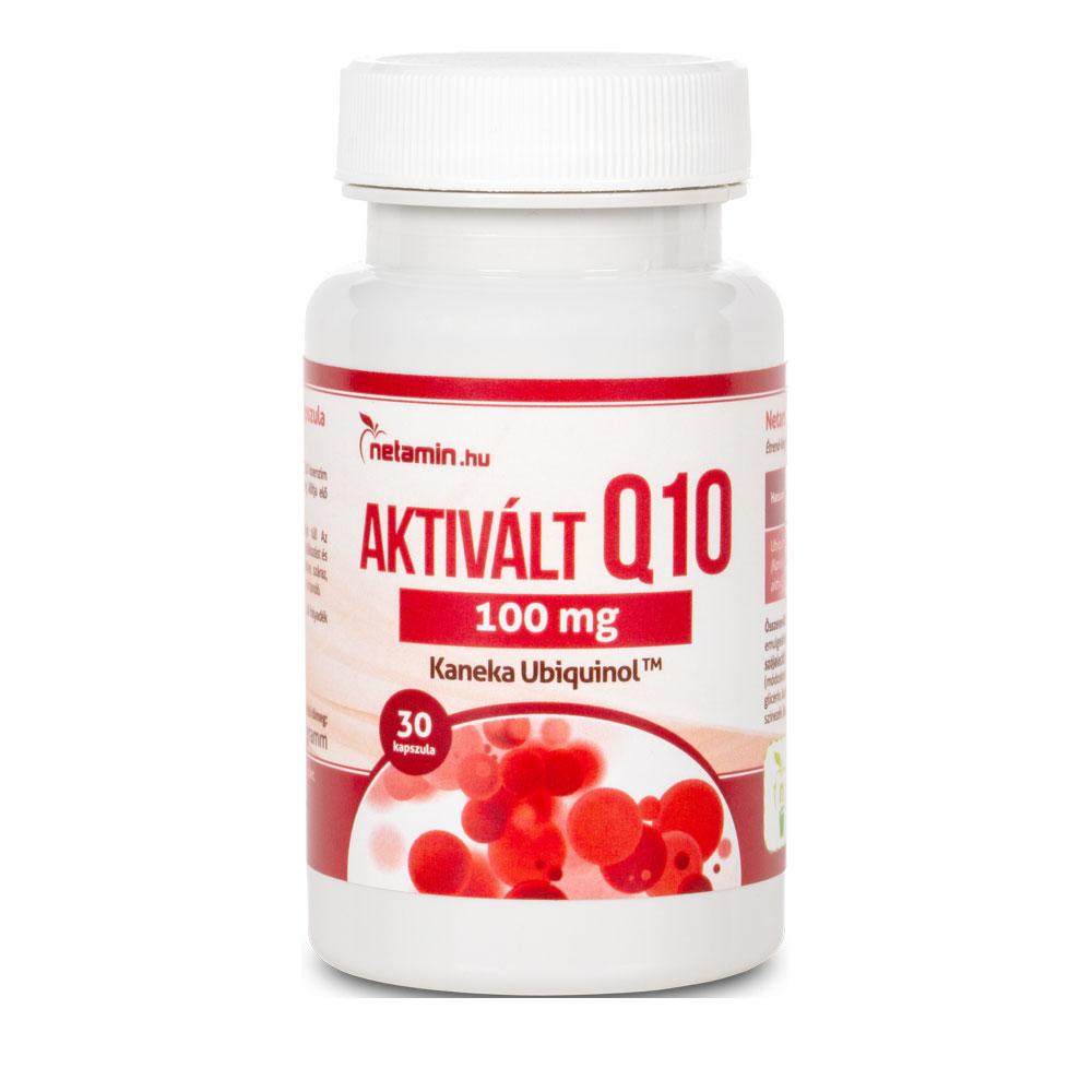 Netamin Aktivált Q10 koenzim 100mg 30 kap.