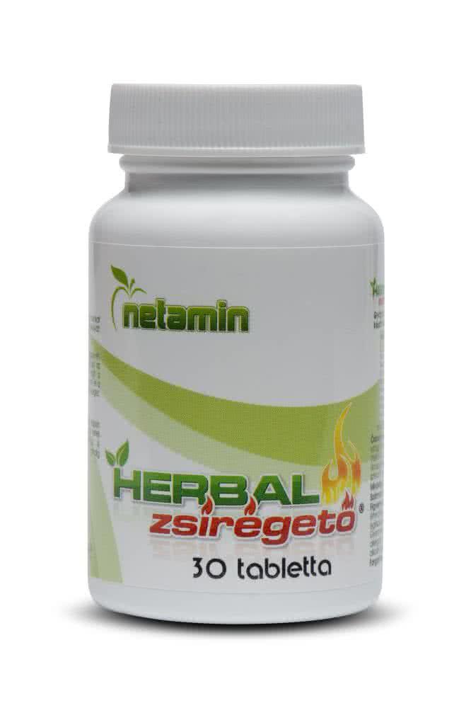 Netamin Herbal Zsírégető 30 kap.