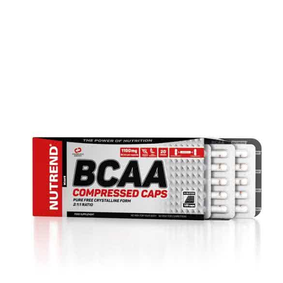 Nutrend BCAA Compressed 120 kap.