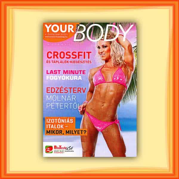 Könyvek/Magazinok Your Body 2013/02