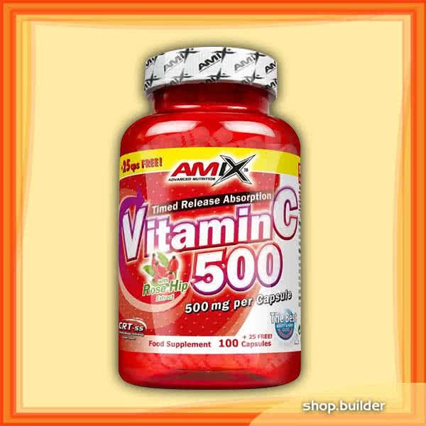 Amix Vitamin C-500 100 kap.