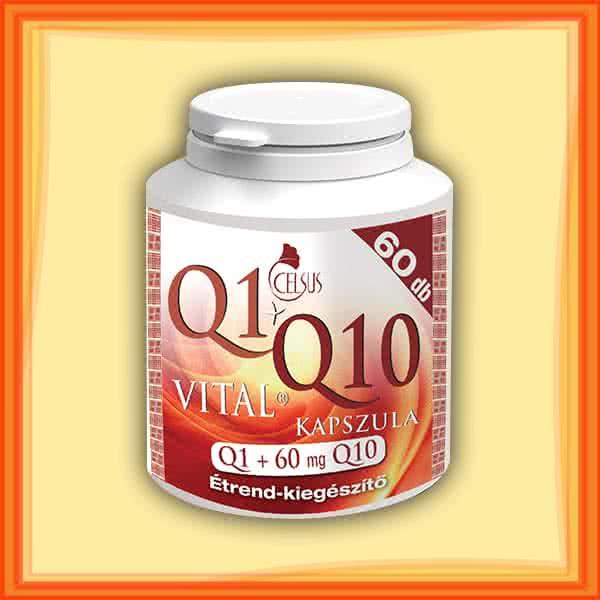 Celsus Q1+Q10 Vital kapszula  60 kap.