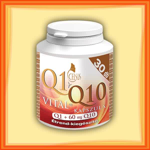 Celsus Q1+Q10 Vital kapszula  30 kap.