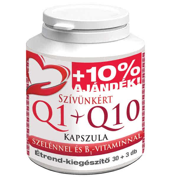 Celsus Szívünkért Q1+Q10 kapszula 30 kap.