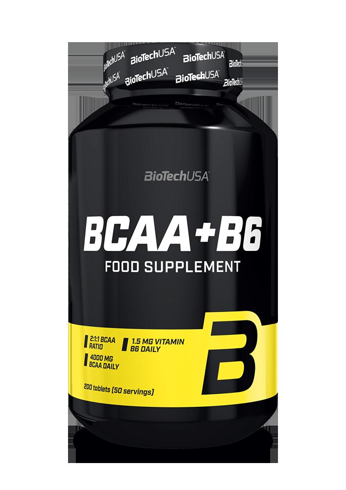 BioTech USA BCAA+B6 200 tab.