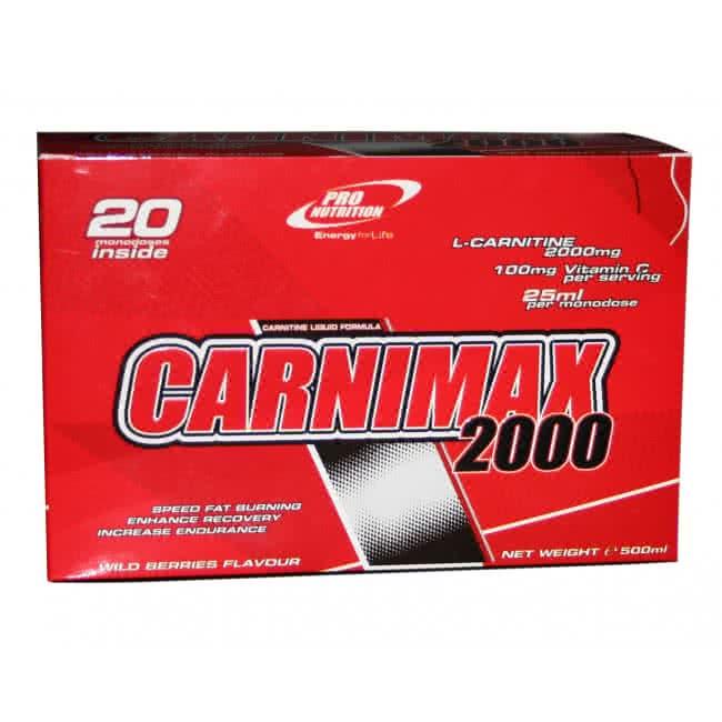 Pro Nutrition Carnimax 2000 20x25 ml