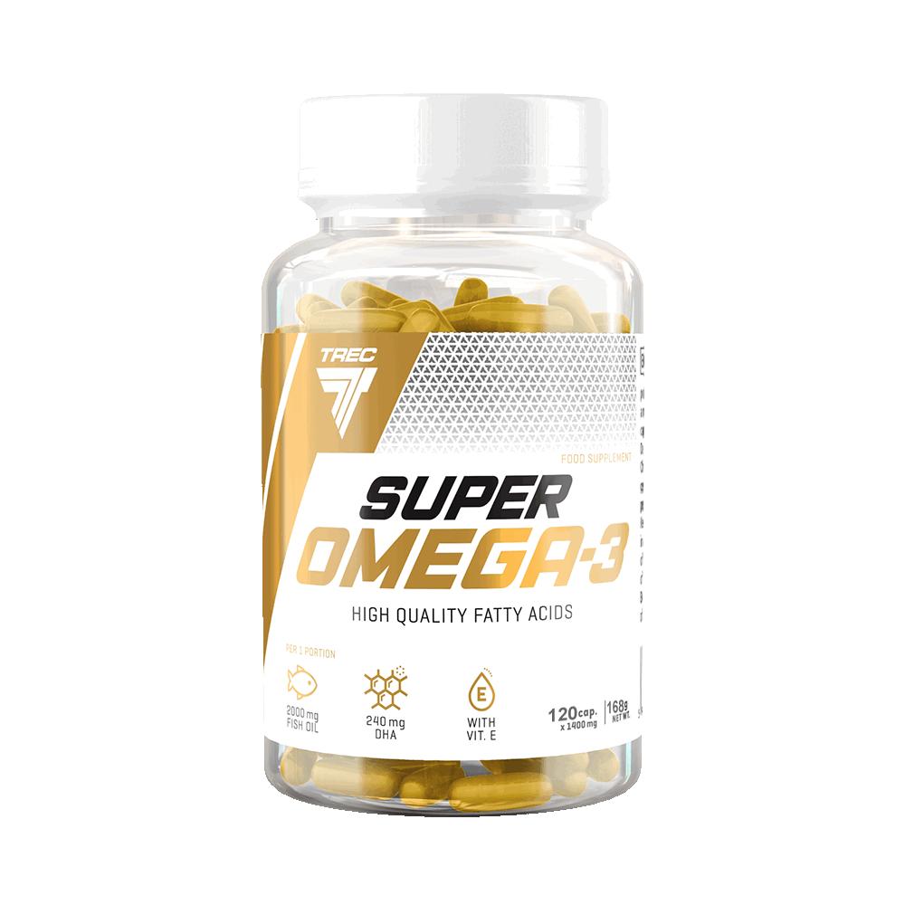 Trec Nutrition Super Omega 3 120 kap.