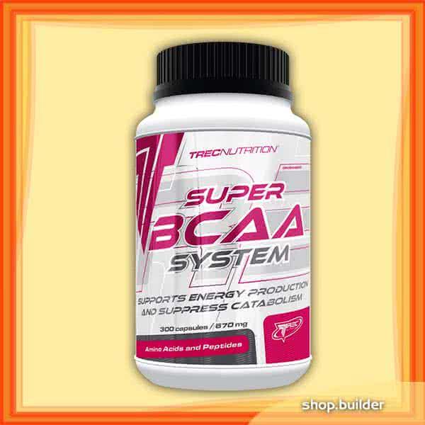 Trec Nutrition Super BCAA System 300 kap.