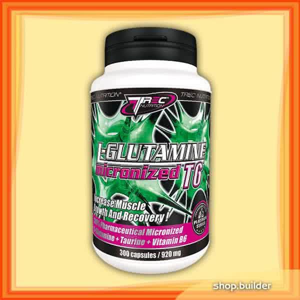 Trec Nutrition L-Glutamine Micronized T6 300 kap.