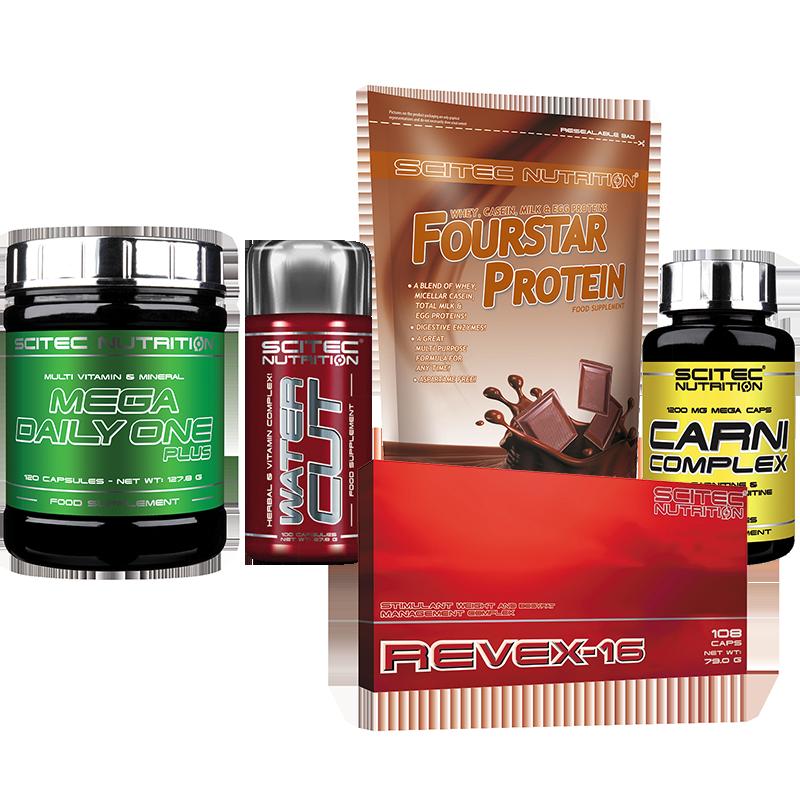 Scitec Nutrition Női Fitness Modell Stack