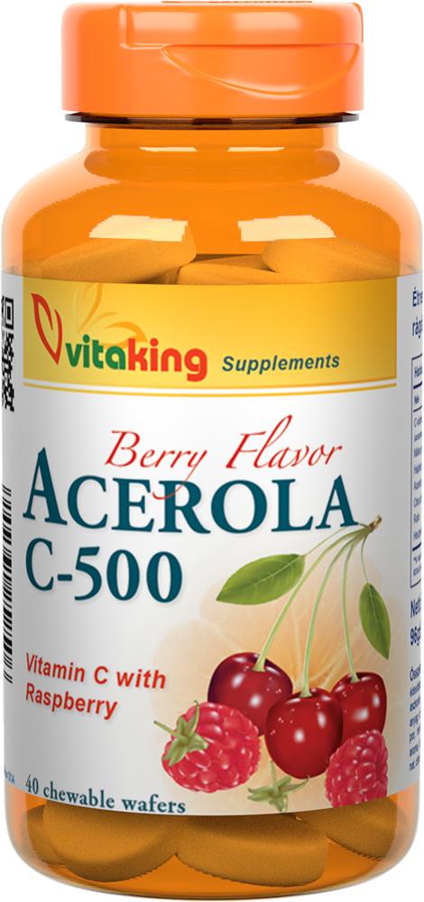 VitaKing Acerola C-500 40 r.t.