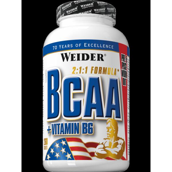 Weider Nutrition BCAA 260 tab.