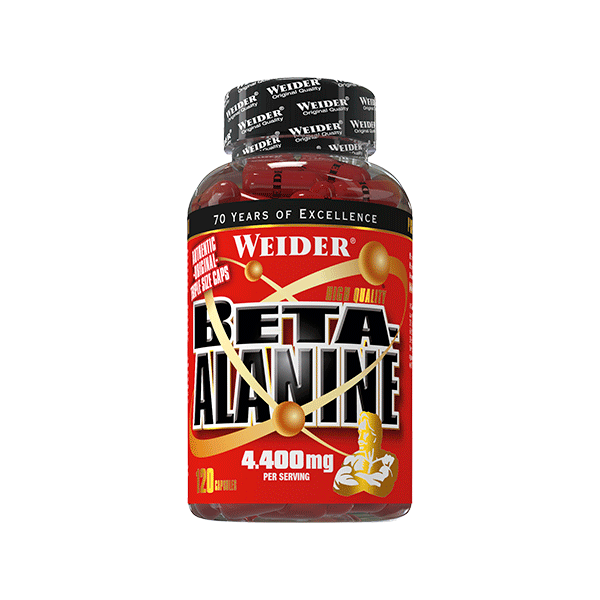 Weider Nutrition Beta-Alanine 120 kap.