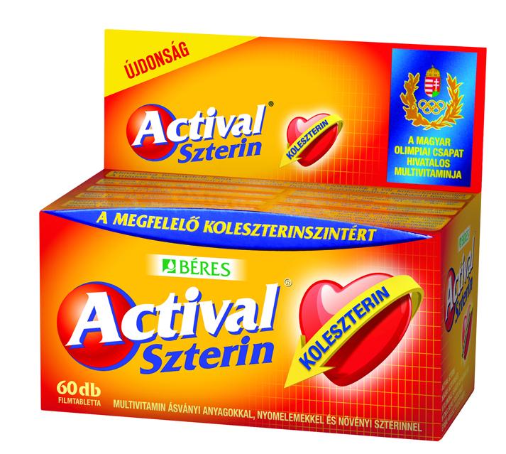 Béres Actival Szterin 60 tab.