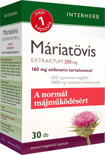 Interherb Máriatövis extraktum 30 kap.