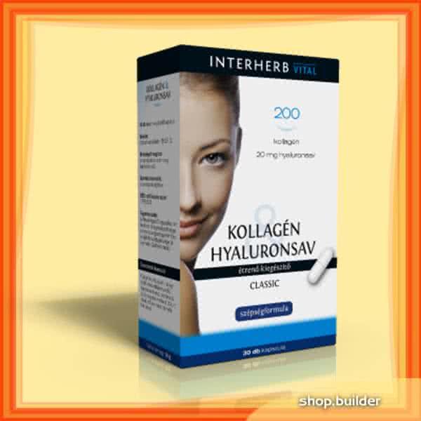 Interherb Kollagén & Hyaluronsav Classic 30 tab.