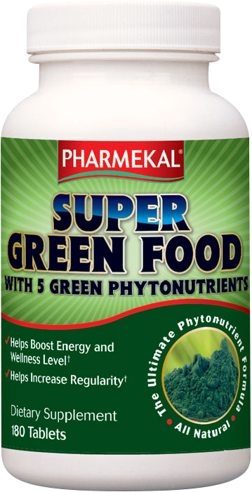 Pharmekal Super Green Food 180 tab.