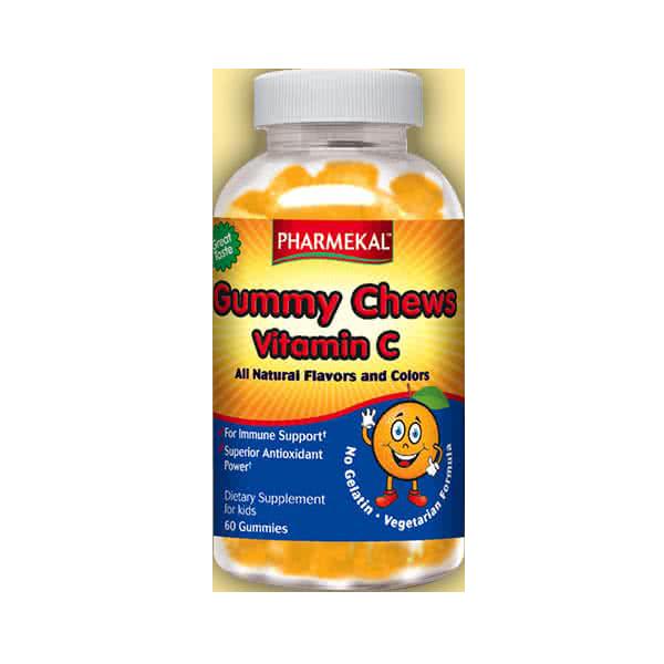 Pharmekal Gummy Chew Vitamin C zselé drazsé 60 r.t.