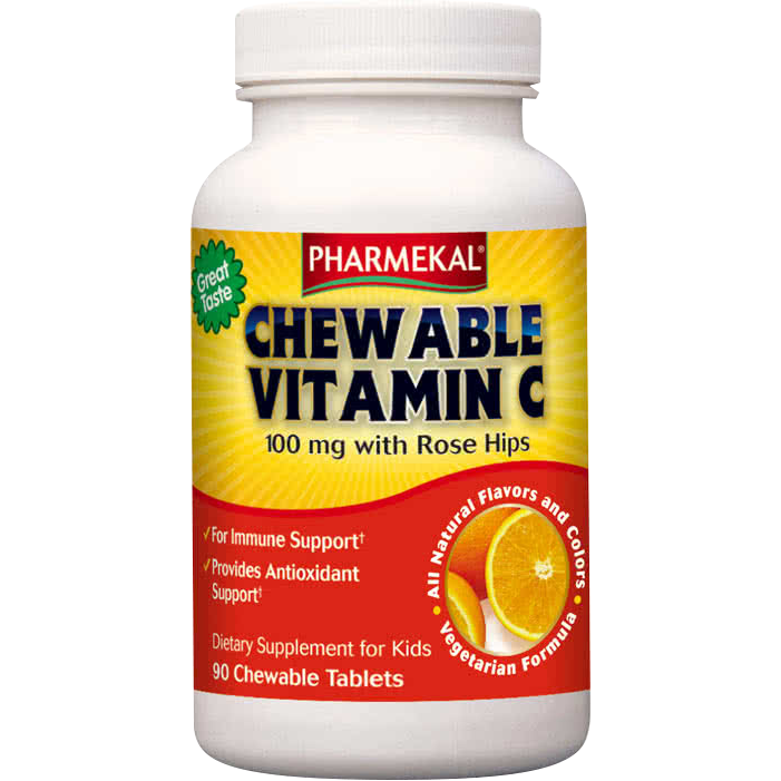 Pharmekal Chewable Vitamin C 90 r.t.