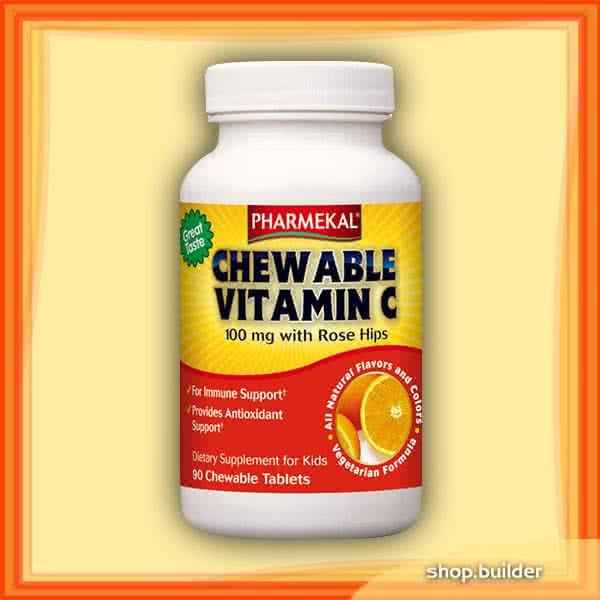 Pharmekal Chewable Vitamin C 90 r.t.