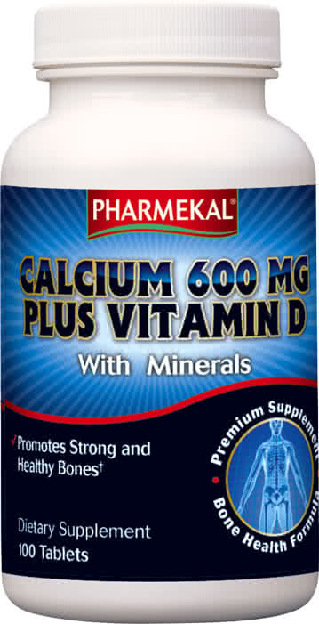 Pharmekal Calcium Plus Vitamin D 100 tab.