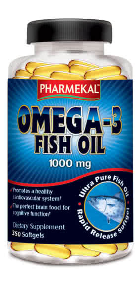 Pharmekal Omega-3 Fish Oil 350 g.k.