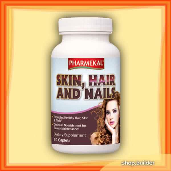 Pharmekal Skin, Hair and Nails 60 kap.