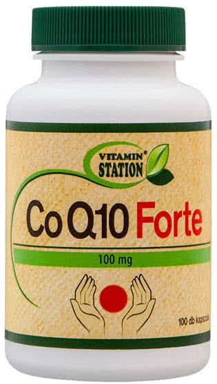 Vitamin Station CoQ10 Forte 100 kap.