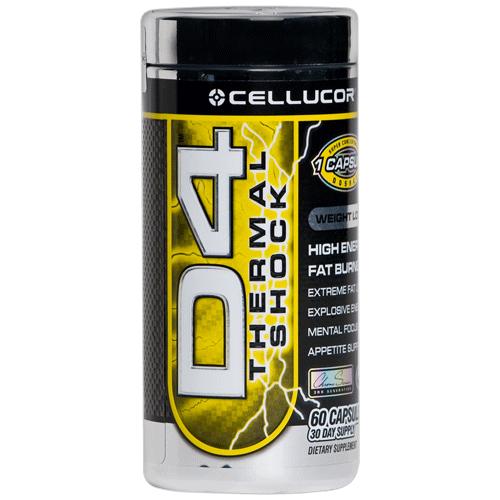 Cellucor D4 Thermal Shock 120 kap.
