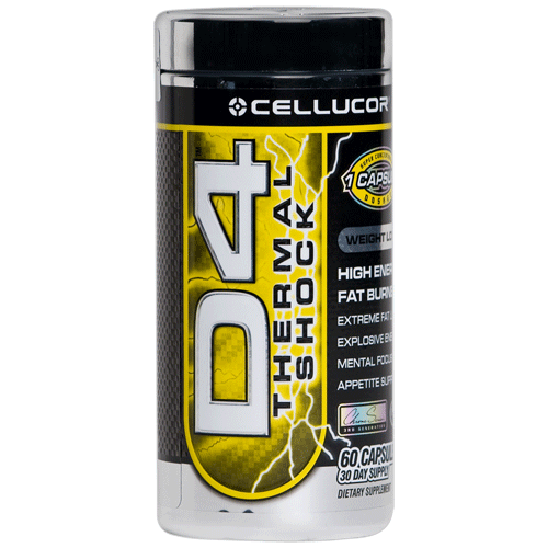 Cellucor D4 Thermal Shock 60 kap.