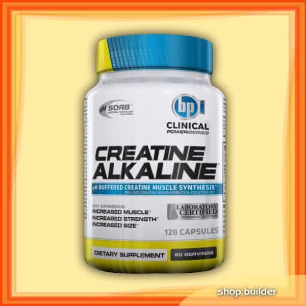 BPI Sports Creatine Alkaline 120 kap.