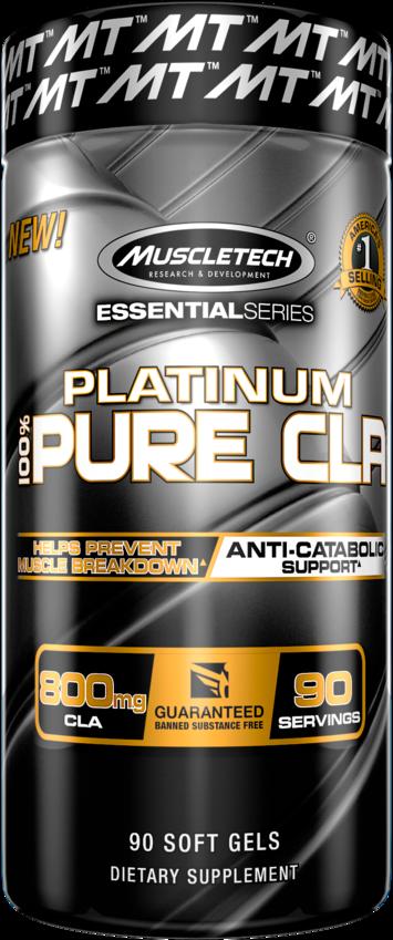 MuscleTech Platinum Pure CLA 90 kap.