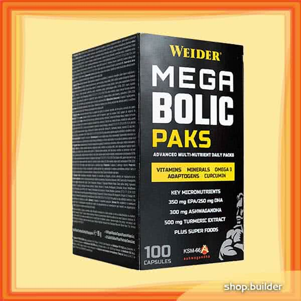 Weider Nutrition Megabolic Paks 100 kap.