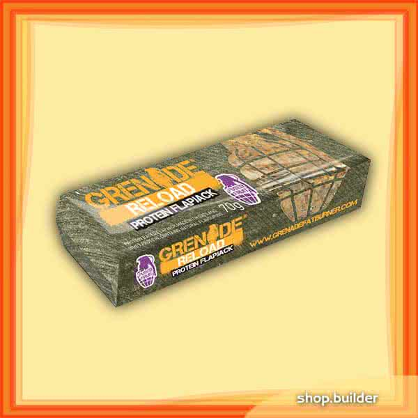Grenade Reload Flapjacks 24x70 g