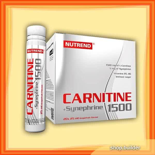 Nutrend Carnitine 1500 + Synephrine  20x25 ml