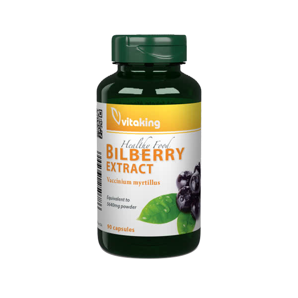 VitaKing Bilberry 90 kap.