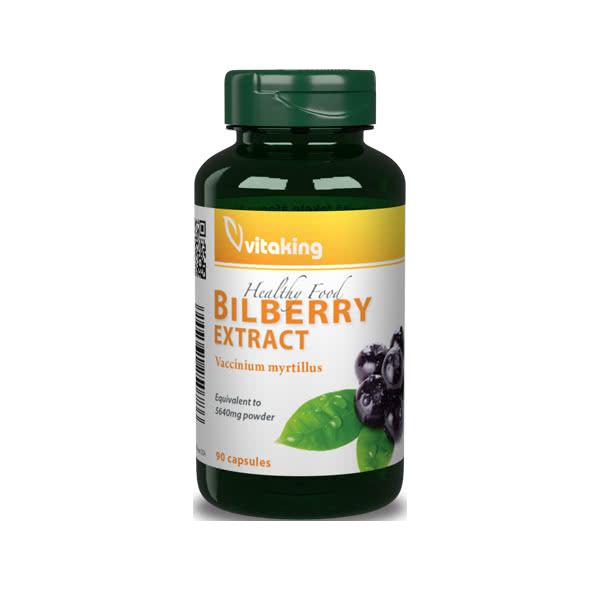 VitaKing Bilberry 90 kap.
