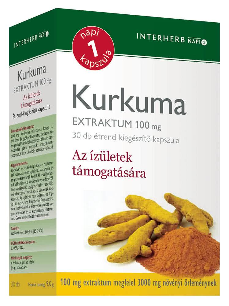 Interherb Kurkuma 30 kap.