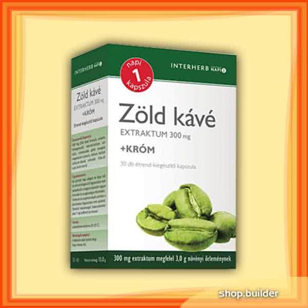 Interherb Zöld Kávé + Króm 30 kap.