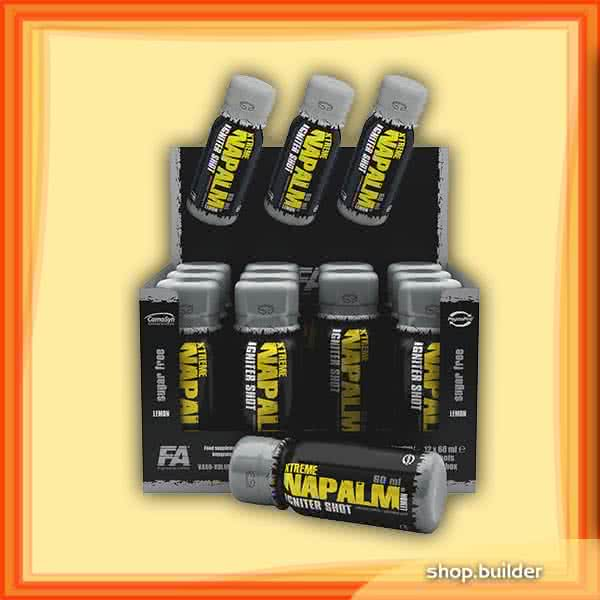 Fitness Authority XTreme Napalm Igniter Shot 24x60 ml