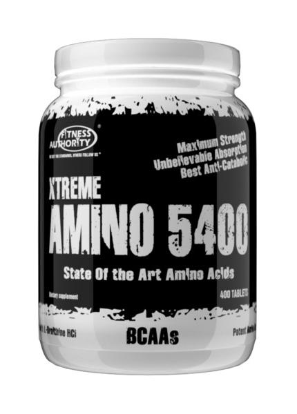 Fitness Authority XTreme Amino 5400 400 kap.
