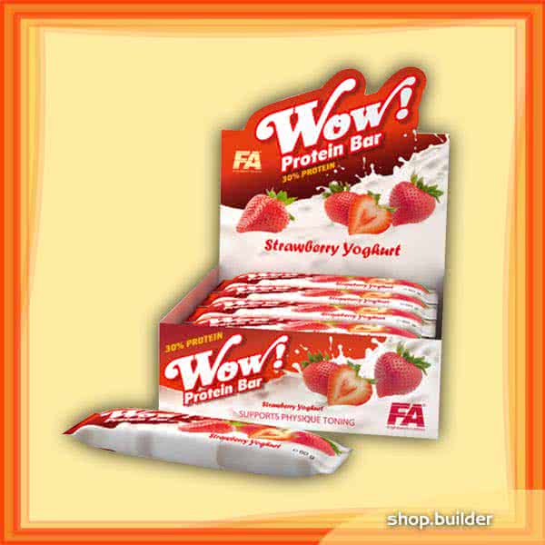 Fitness Authority Wow Protein Bar 12x60 g